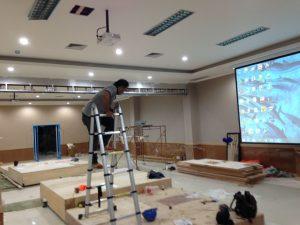 Instalasi Projector